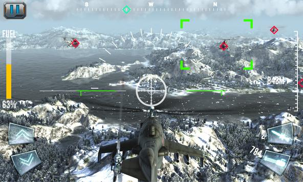 Air Gunship Shooting Attack 3D screenshot 1