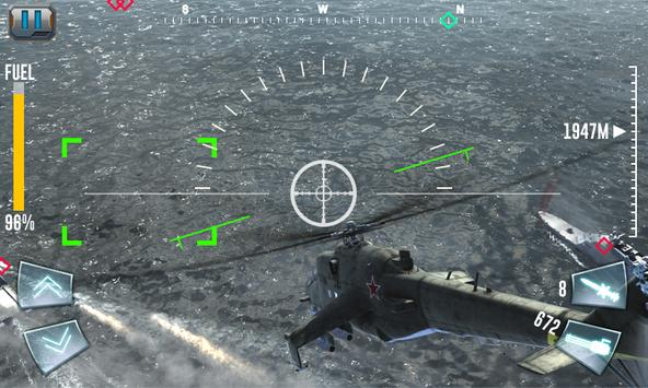 Air Gunship Shooting Attack 3D screenshot 2