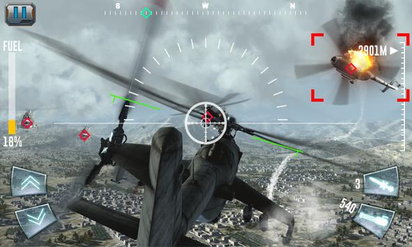 Air Gunship Shooting Attack 3D screenshot 3