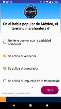Quién quiere ser Mexicano screenshot 1