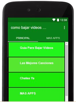 Bajar Videos y Musica Gratis A Mi Celular Guides screenshot 4