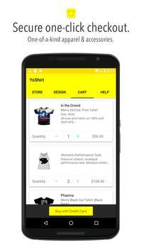 Custom T-shirt, Tote Bags, Socks - Yoshirt apk screenshot