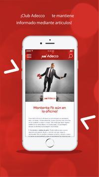 Club Adecco screenshot 1