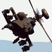 Helicopter Attack Simulator icon