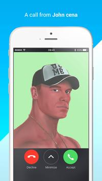 A real call John cena for WWE poster