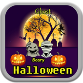 Scary Halloween Ghost icon