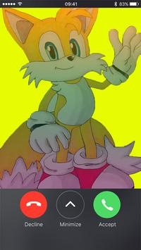 call from Super Tails apk screenshot