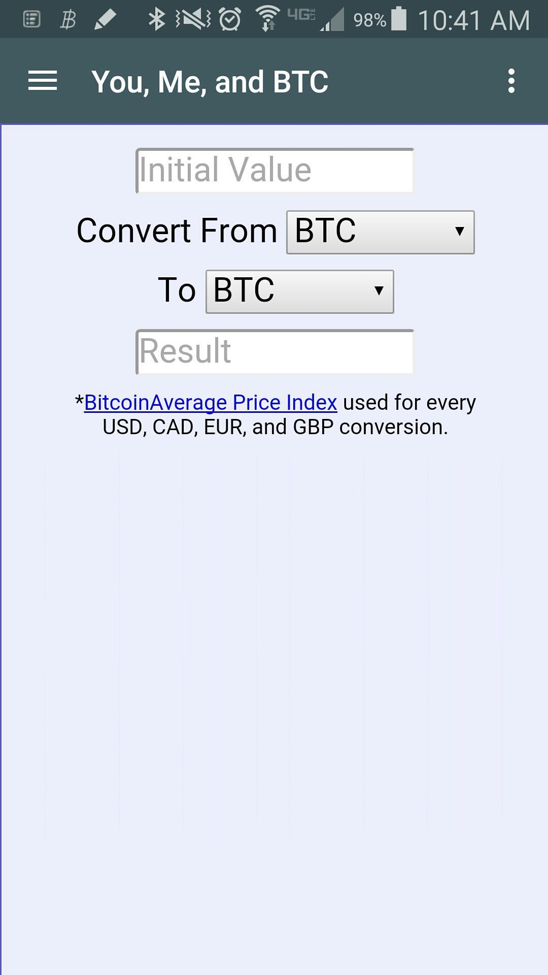 Ymb Bitcoin Calculator Radio For