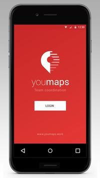 Youmaps for TeamCoordination apk screenshot