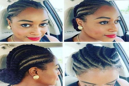 Cornrow braid hairstyles screenshot 2