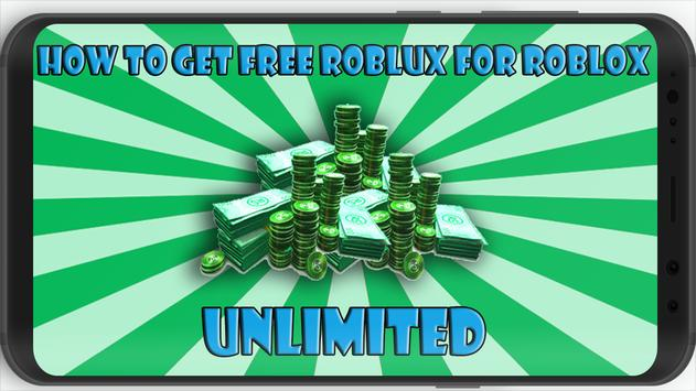 Download How To Get Free Robux For Roblox Apk For Android Latest