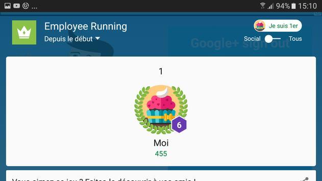 Employee Running screenshot 5