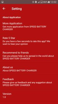 SPEED BATTERY CHARGER screenshot 1