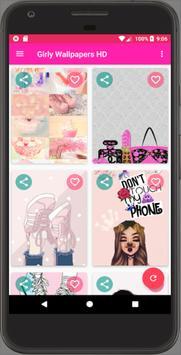 Girly Wallpapers HD screenshot 5