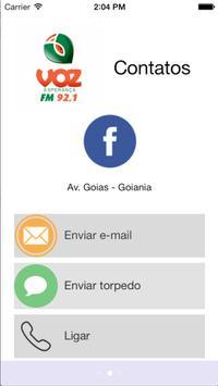 Voz FM 92,1 poster