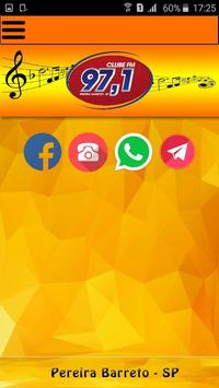 Clube FM 97 screenshot 1