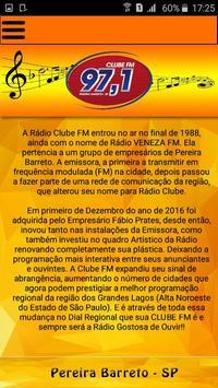 Clube FM 97 screenshot 3