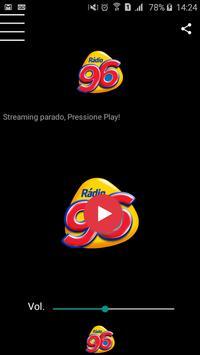 Rádio 96,3 FM poster