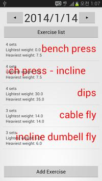 [Exercise] 2-Simple Fitness poster