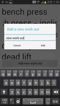 [Exercise] 2-Simple Fitness apk screenshot
