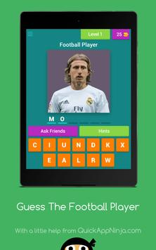 Guess The Football Player apk screenshot
