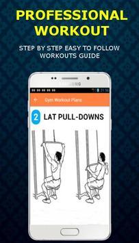Gym Workout Plans apk screenshot