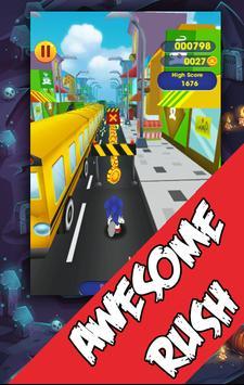 Sonic Flash Speed Rush 3D poster