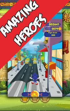 Sonic Flash Speed Rush 3D screenshot 2