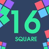 16 Squares icon