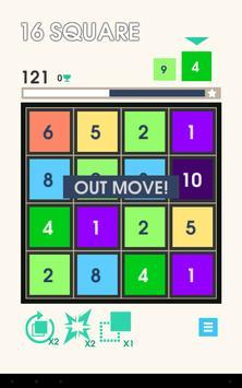 16 Squares apk screenshot