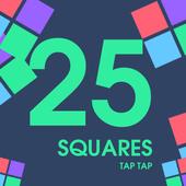 25 Squares - Tap Tap icon