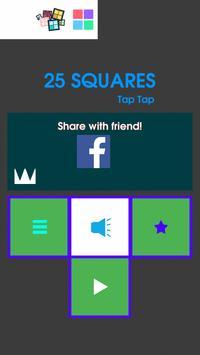 25 Squares - Tap Tap screenshot 6