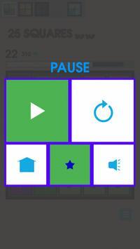 25 Squares - Tap Tap screenshot 8