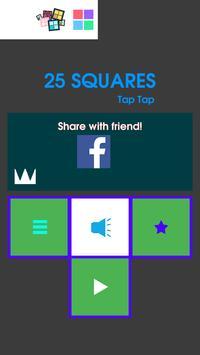 25 Squares - Tap Tap poster