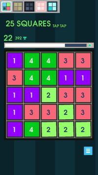25 Squares - Tap Tap screenshot 2