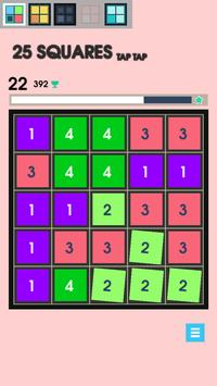 25 Squares - Tap Tap screenshot 3