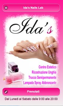 Idas Nails Lab poster
