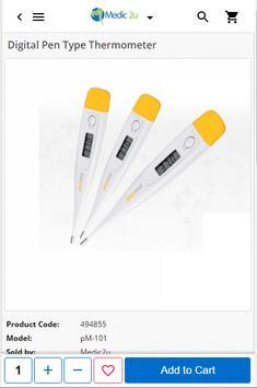 Medic2u - Medical Products apk screenshot