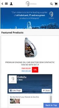 Exito2u - Oil Lubricants Supplier screenshot 1