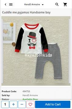 Hands Armoire - Babies & Kids Products apk screenshot