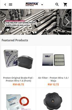 Kentax Auto Parts - Car Spare Parts Supplier screenshot 1