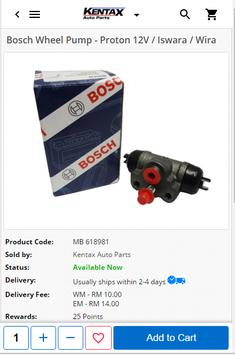 Kentax Auto Parts - Car Spare Parts Supplier apk screenshot