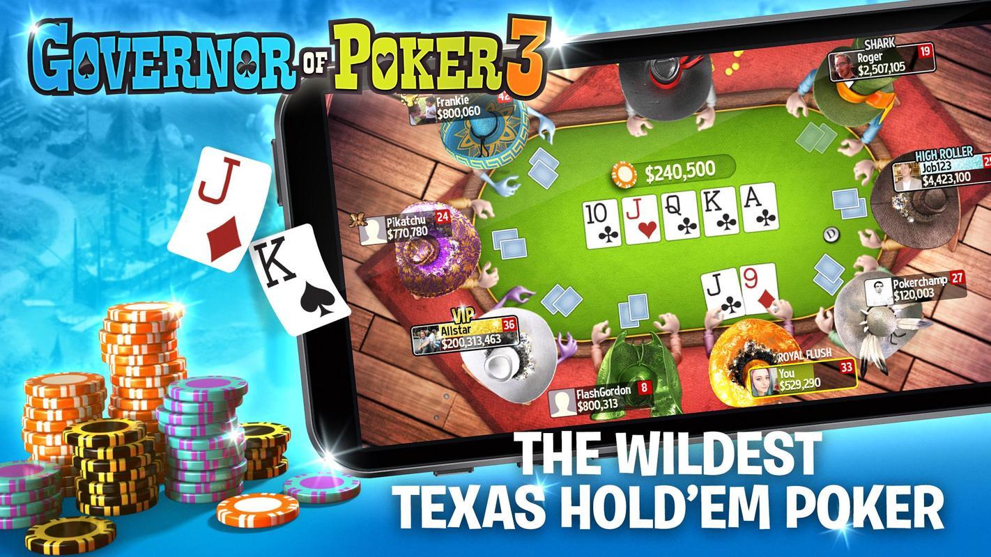 Texas holdem poker gratis governor