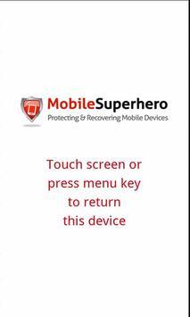 Pier Mobile Superhero poster