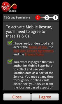 Virgin Mobile Rescue poster