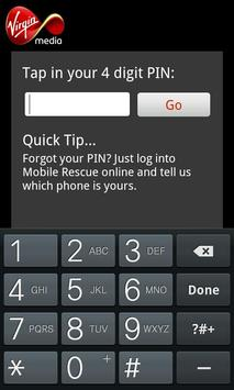 Virgin Mobile Rescue screenshot 2
