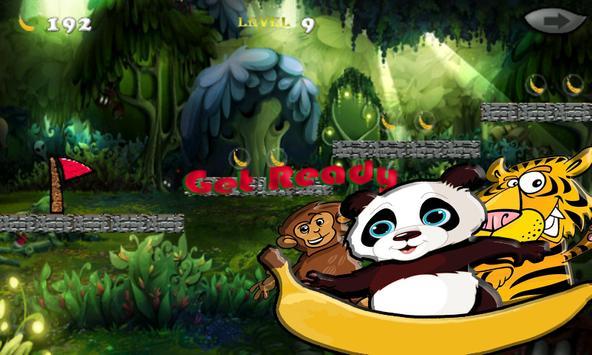 panda jump jungle banan apk screenshot