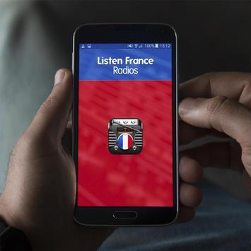 Listen France Radios poster