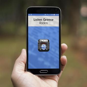 Listen Greece Radios poster