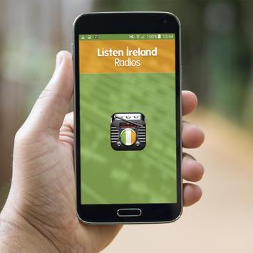 Listen Ireland Radios poster